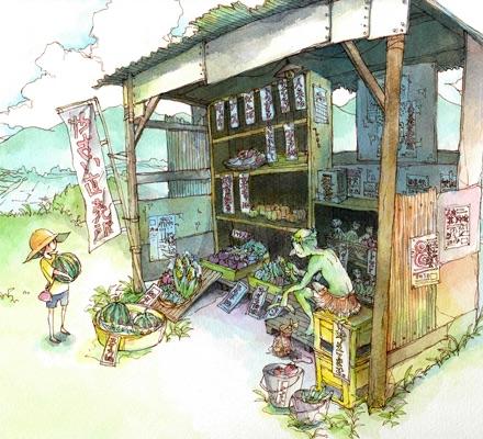 風景イラストコース成安造形大学