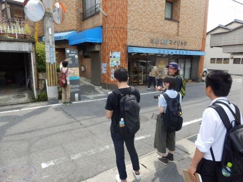 大津市の景観審議委員でもある石川亮助教の監修のもと、調査が始まりました