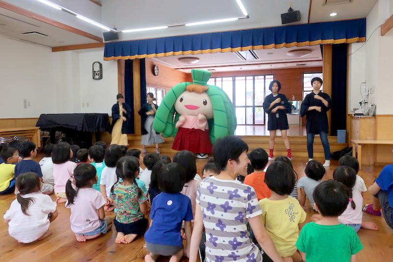 ちまき巻き巻きダンス!!。